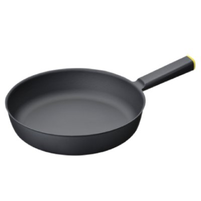 Photo2: Fry pan 24cm Yellow(2.54qt,2.4ℓ)