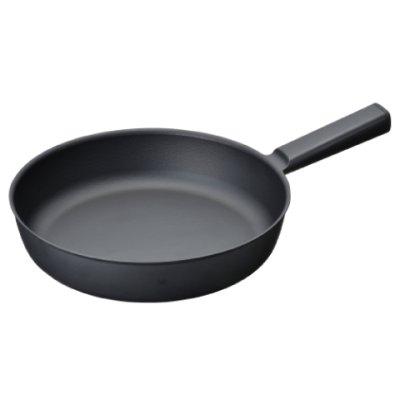 Photo2: Fry pan 24cm Black(2.54qt,2.4ℓ)